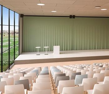 Cube-talerstol-Auditorium