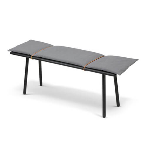 Skagerak Georg Bench Black Oak