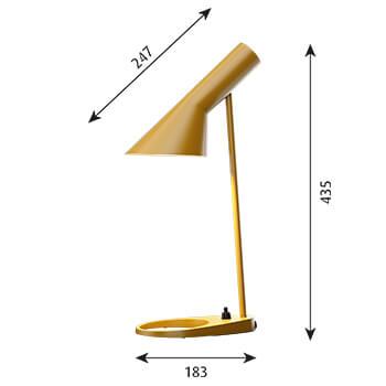 AJ_Mini_Table_YellowOchre_Louis Poulsen_350x350