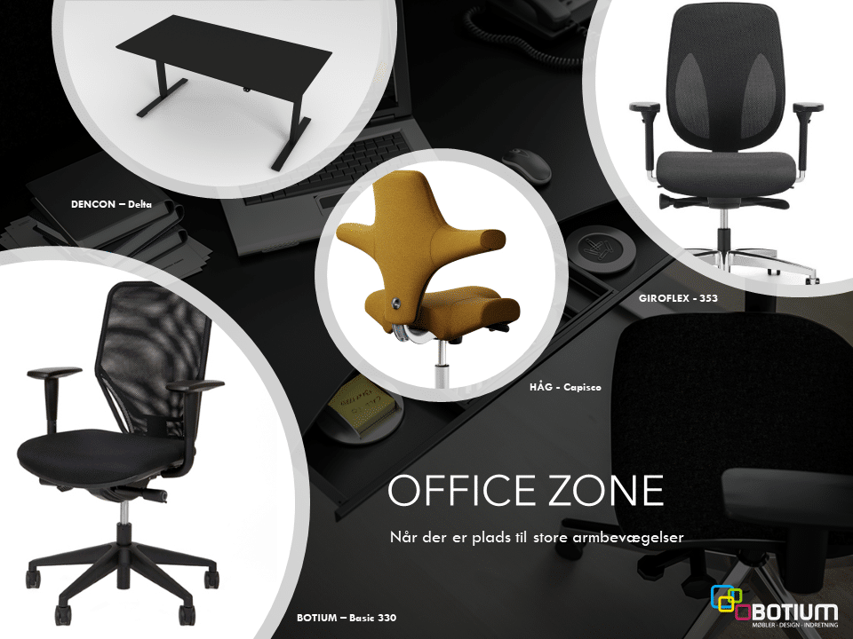 Office Zone - Når der er plads til store armbevægelser