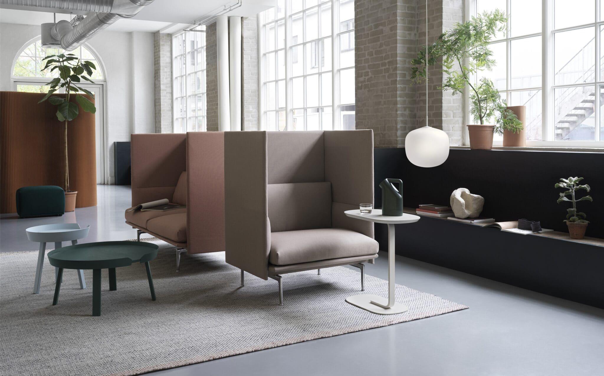 Loungemøbler til den moderne arbejdsplads